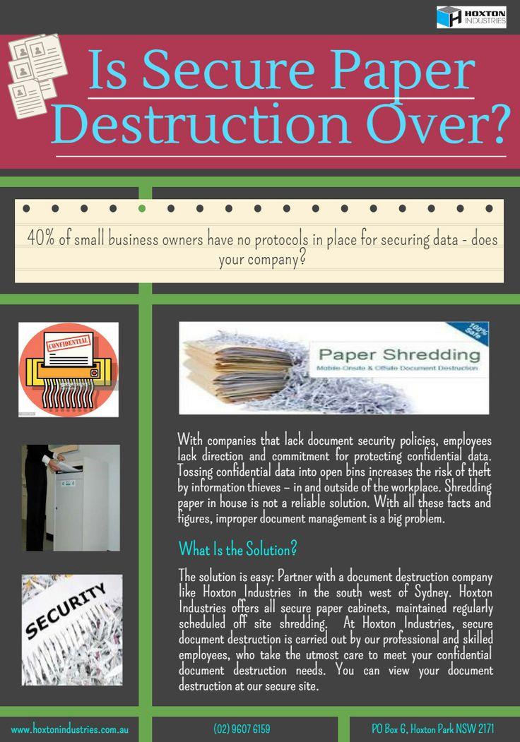 22 best Specialised security shredding images on Pinterest Au - best of shredding certificate of destruction sample