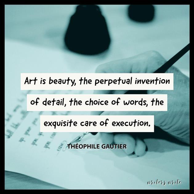 Quotable – Théophile Gautier - Writers Write