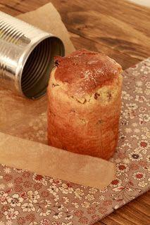 Pannetone individuel à offrir Laisser lever une nuit au frigo pour une pâte filante