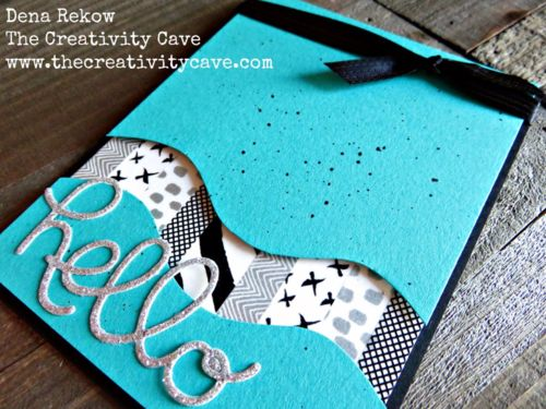 Great Video Tutorial on my blog for making cards with Washi Tape and Stampin Up's Crazy About You Bundle!!