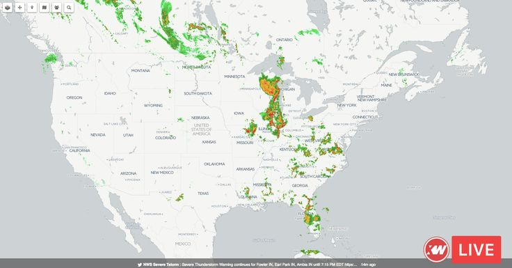 Severe Thunderstorms Live weather radar from xtremeweather.org Wednesday, June 14, 2017 – 6:00pm CDT - https://blog.clairepeetz.com/severe-thunderstorms-live-weather-radar-xtremeweather-org-wednesday-june-14-2017-600pm-cdt/