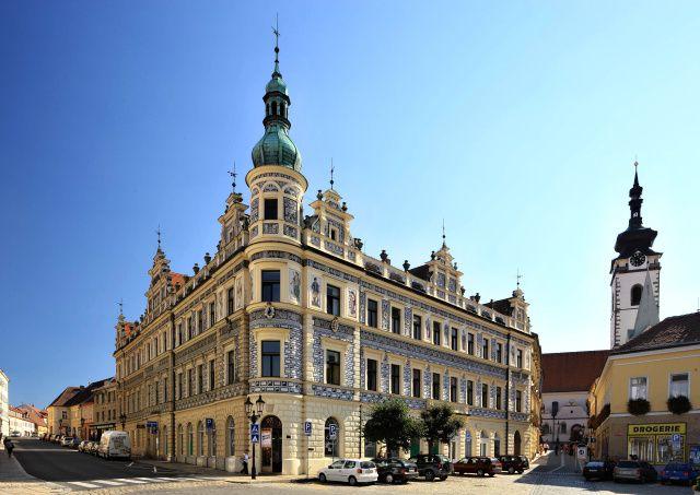 Písek - House at the Black Eagle