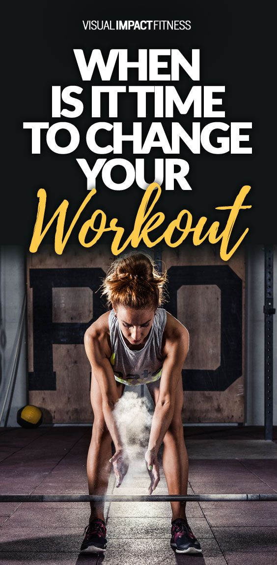Sticking to the same routine for too long will lead to stagnation and fat loss plateaus. Here's the signs that you should switch your workout program.