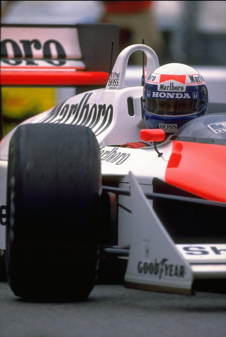 Alain Prost (1988) by F1-history