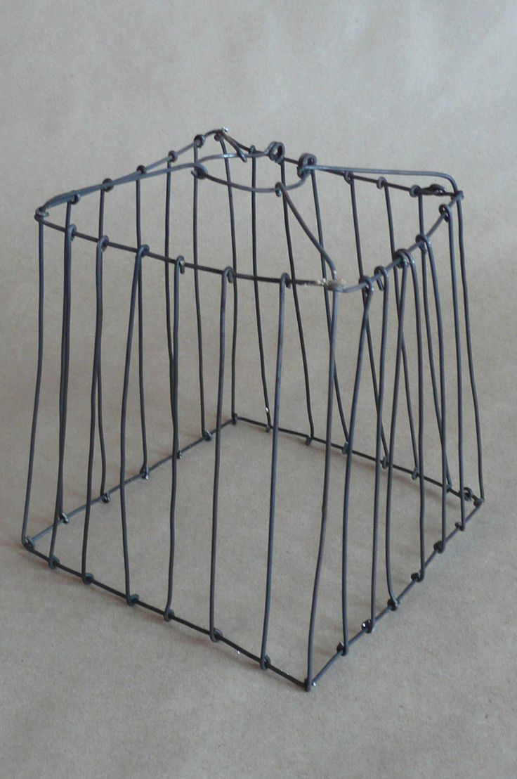 Wire Cube lampshade