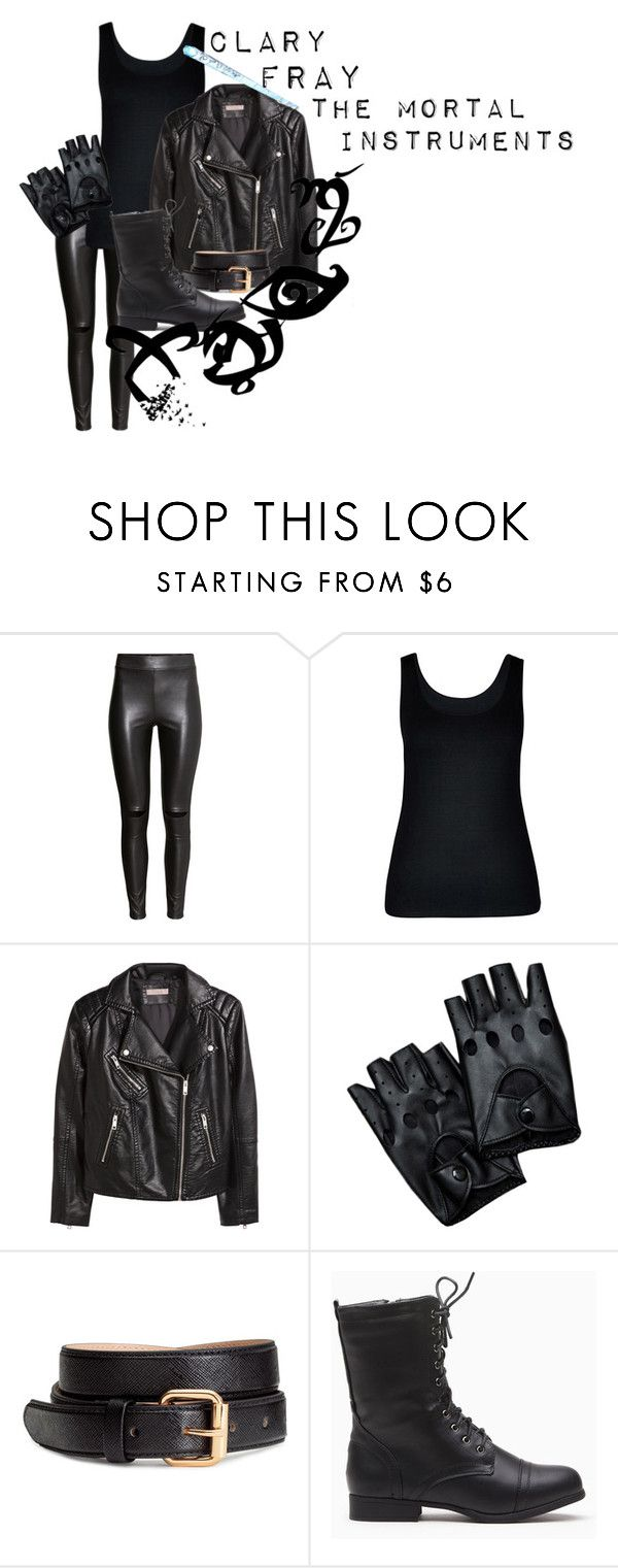 """""""Clary Fray: The Mortal Instuments"""" by ava-adams123 ❤ liked on Polyvore featuring H&M, City Chic, Stele and plus size clothing"""