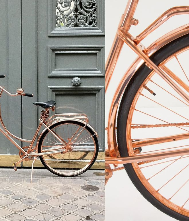 Van Heesch's copper bike / anthropologie