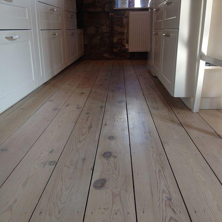 Victorian Pine Floor Restoration