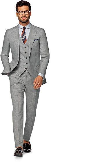 Suit_Light_Grey_Plain_Lazio_P4257I