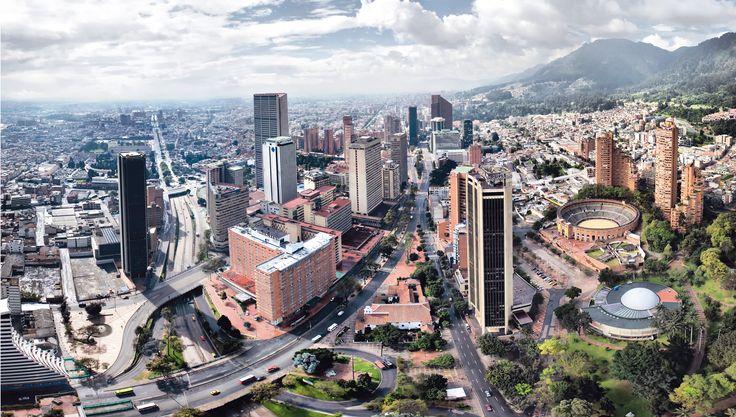 Bogotá, Centro Internacional.