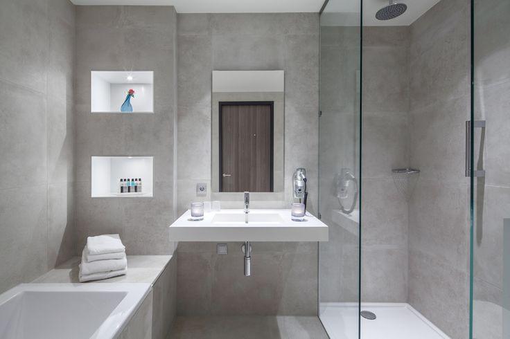 Comfort kamer plus van der valk hotel zwolle badkamer for Design hotel zwolle