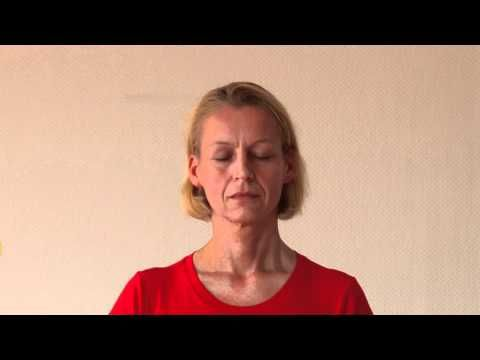 Observe the movement of breath at the tip of your nose. This mindfulness meditation is very useful to calm the mind and soothe the emotions. Concentration on the tip of the nose is recommended in the Bhagavad Gita, the Hatha Yoga Pradipika and the Gherandha Samhita.   http://mein.yoga-vidya.de/video/meditation-on-the-tip-of-your-nose