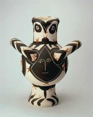 PABLO PICASSO: GROTE VOGEL, ZWART GEZICHT, 1951 (collection Stedelijk Museum Amsterdam)