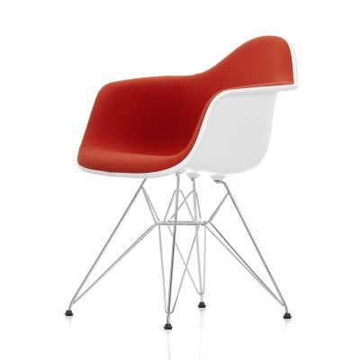 Eames DAR armchair with full upholstery