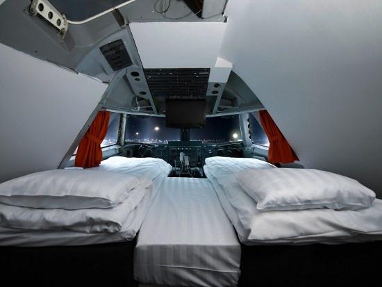 Jumbo Hostel, ένα Boeing 747 που έχει μετατραπεί σε ξενοδοχείο