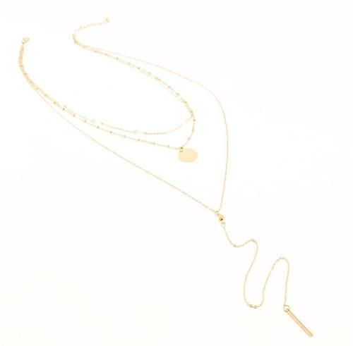 LILLA LAYERED NECKLACE (GOLD)  www.minimalistjewellery.com.au    #minimalistbabe #minimalistbabes #minimalistjewelry #minimalistjewellery  #minimalist #jewellery #jewelry #minimalistaccessories #bangles #bracelets  #rings #necklace #earrings #womensaccessories #accessories