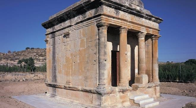 Sepulcro romano de Fabara, Zaragoza © Turespaña