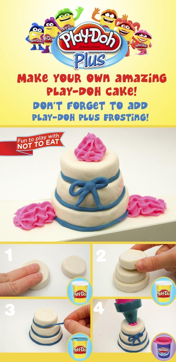faisons des gâteaux avec Play-Doh! / Play-Doh cake maker