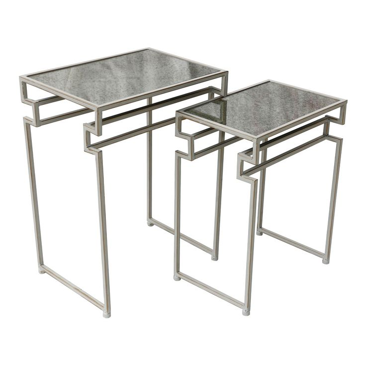 Nest Of Tables   Set Of 2   Goldline   46x61cm by Style 'n Save on THEHOME.COM.AU