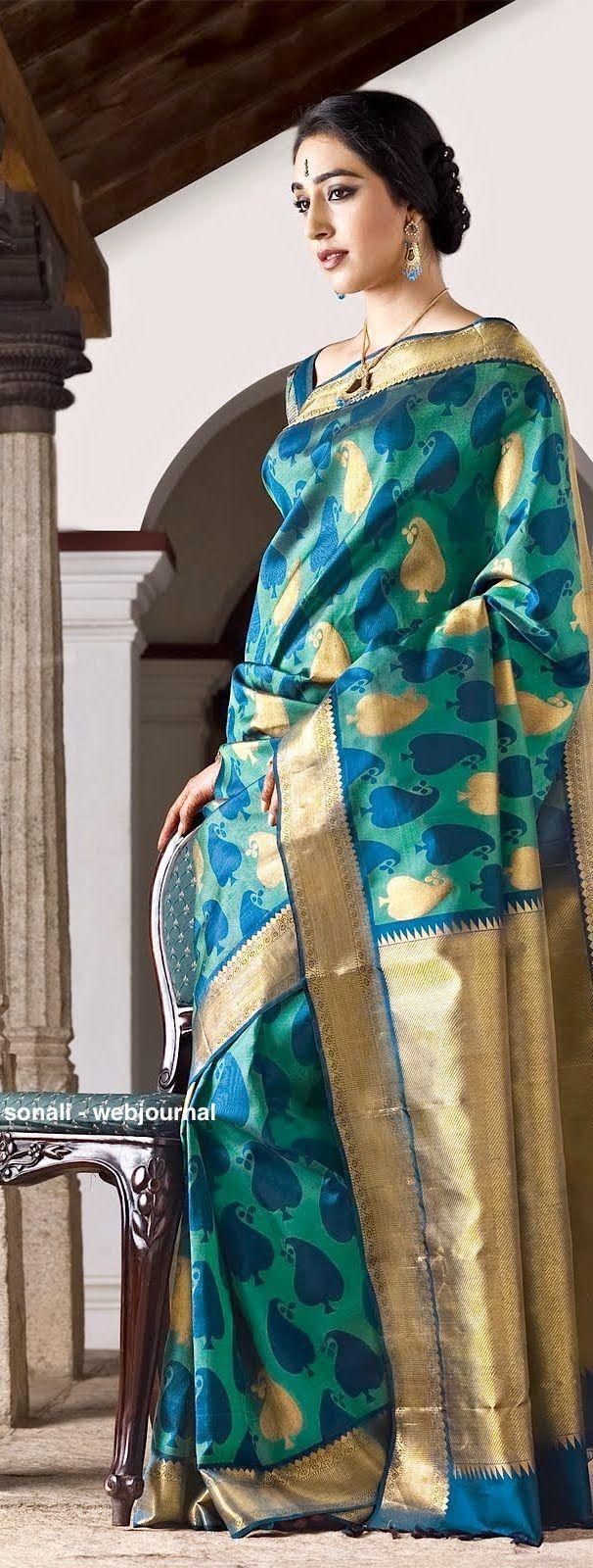 Pure Kanjivaram/ Kanchipuram Silk