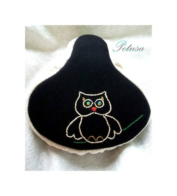 Owl seat cover saddle cover bike bicycle by PetusaSelection