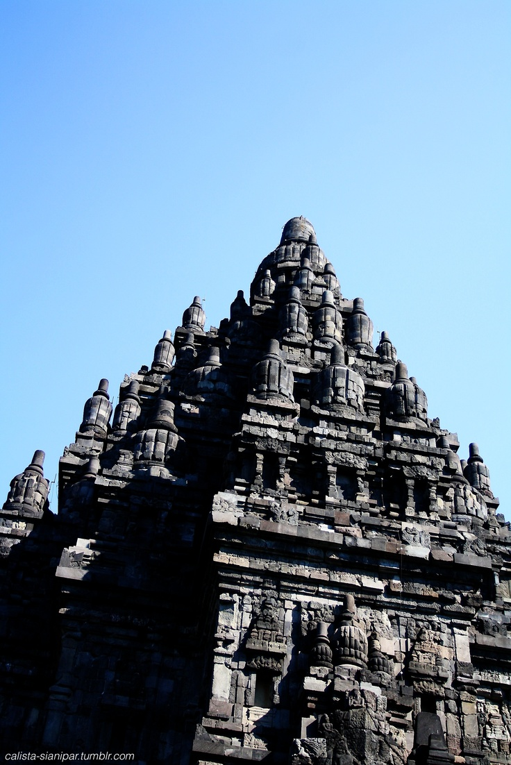 A gorgeous view of the Prambanan Temple in West Java taken by my cousin