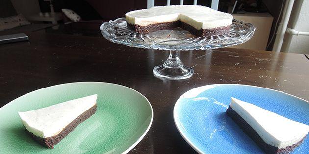Brownie cheesecake opskrift