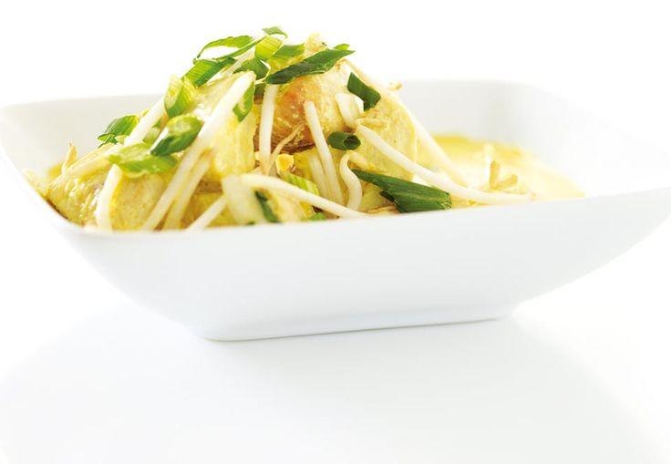 Kyckling i curry med grönsaker - Recept | Aktiv Träning