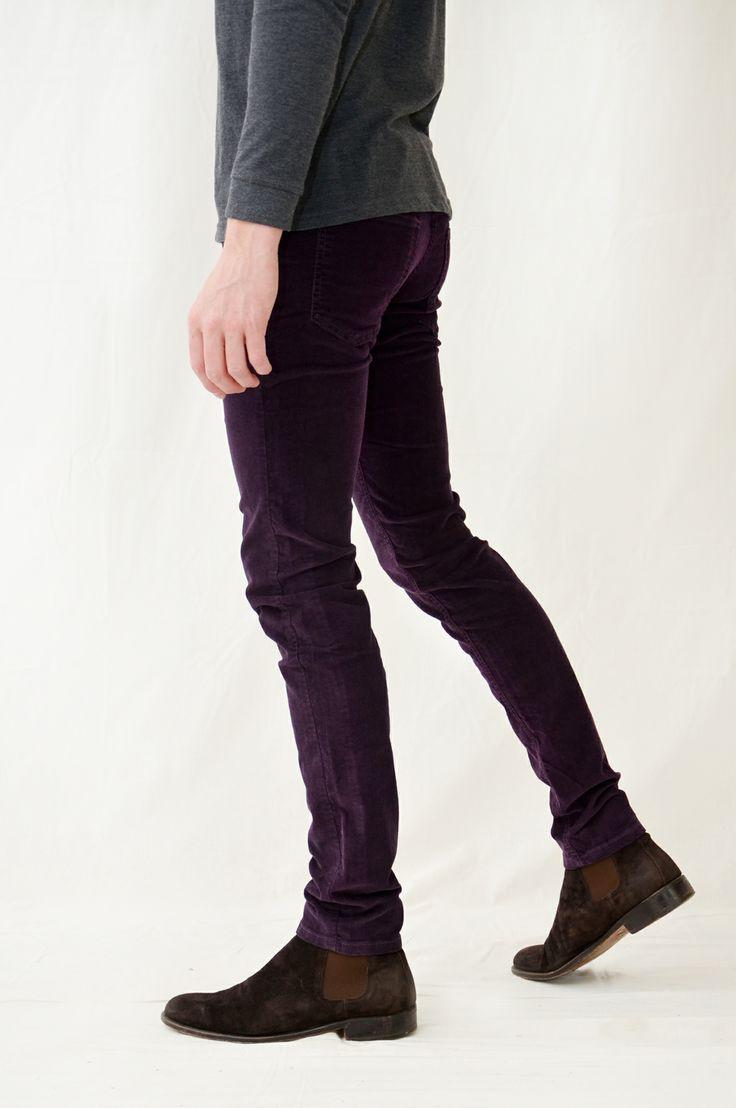 plum babycord skinny soil association organic jeans