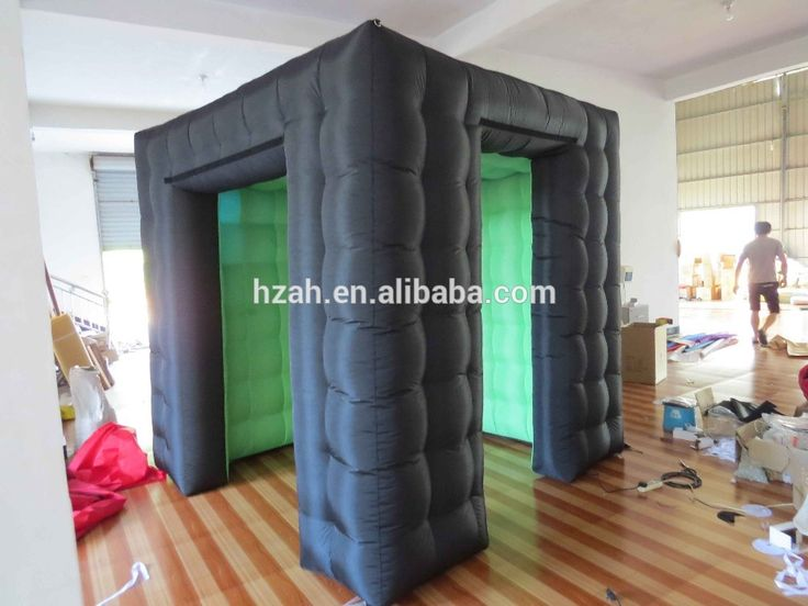 2.5*2.5m Black Inflatable Photo Booth Lights for Sale