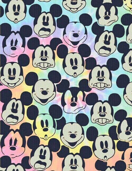 Mickey Mouse Pattern WallpaperCute