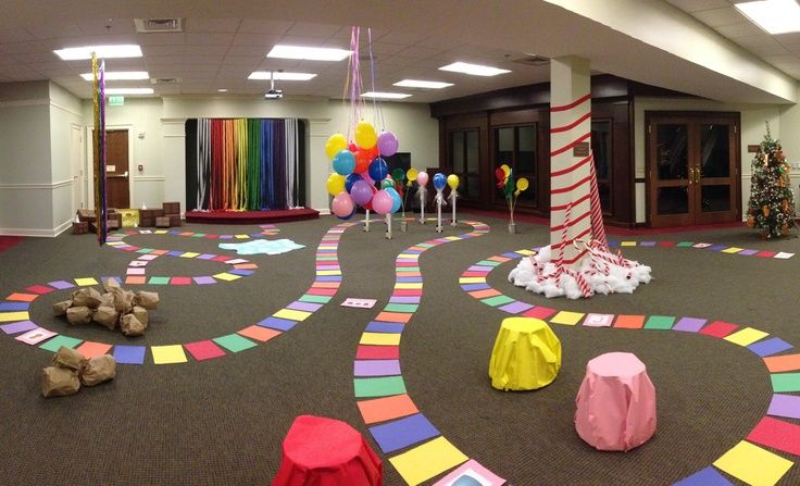 Life-Size Candyland at the Library