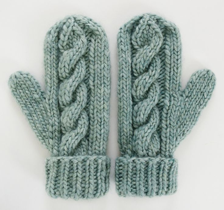 Classic Cabled Hat Amp Mittens Free Pattern Mittens