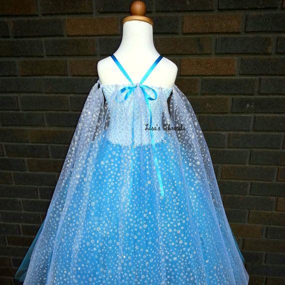 Elsa dress 2 Frozen dress Frozen party dress por LisasThreads