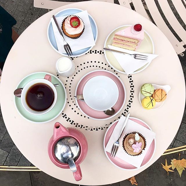 🌿🌸:: Here's another sneak peek of our amazing afternoon tea from @peggyporschenofficial as part of our forthcoming fashion video! We can't wait to debut the final cut and share some more making of! :: 🍰🌿  .  .  .  #BillSkinner #peggyporschen #pink #afternoontea #fahionshoot #fashionvideo #filming #london #kensington #cakes #parlour #prettypink #jewellerylovers #sneakpeek #shopindie