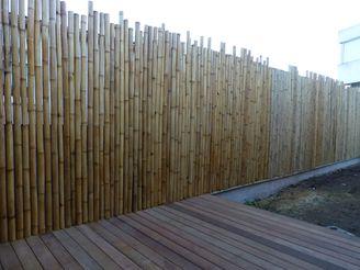 Brise-vue en bambous géants 100cm x 200cm