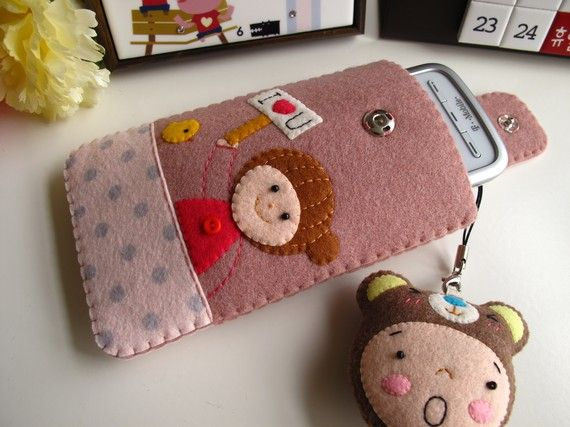 iPhone 4 case / iPhone case / iPod Touch case  Girl by FeltLLang, $32.00
