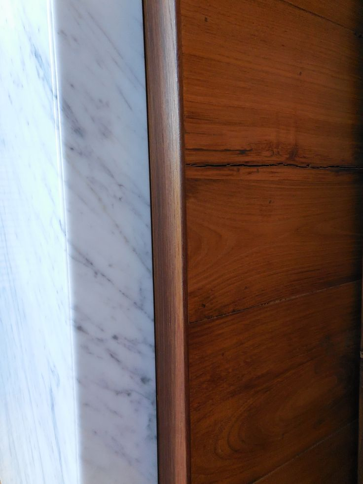 Marble & Vintage oak _ Maria Riemma Architect
