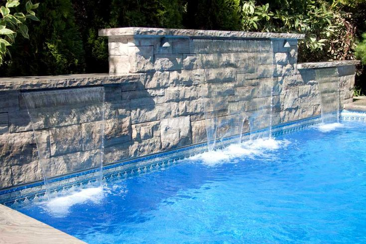 44 Best Images About Swimming Pool Water Features On Pinterest Pool Bar Waterfalls And Water