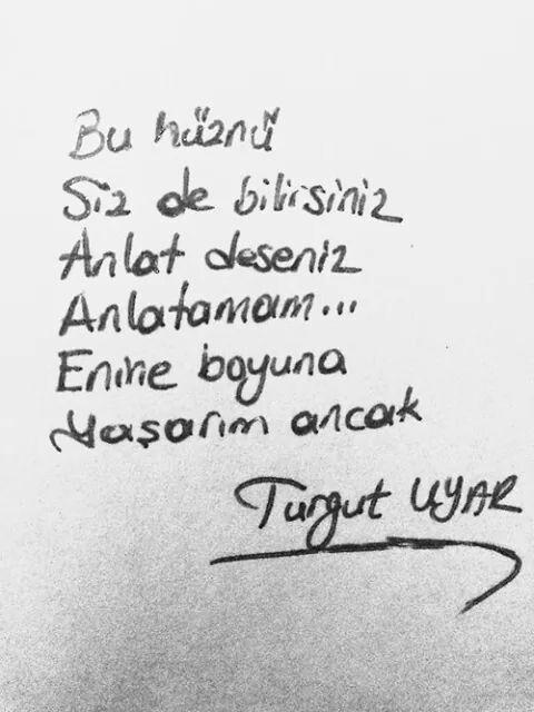 ~ Turgut Uyar