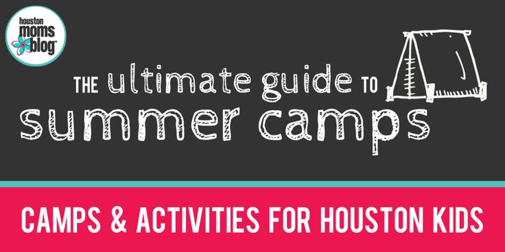 A clearly organized and comprehensive list of both day camps and overnight summer camps in Houston and the surrounding areas!