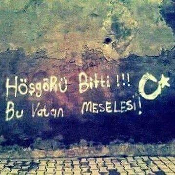 Türkiye Türk ülkesidir, Devrana böyle biline. #kayıboyu