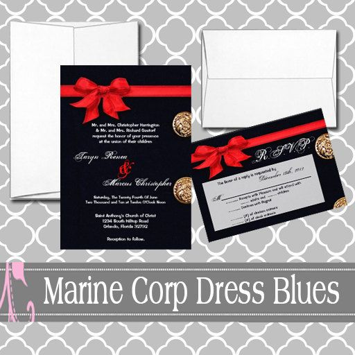 Marine Corp Dress Blues Uniform Suit By Designsbyannleedotco Wedding Decorationsmarine Corps