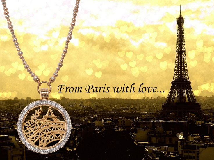 They say Paris is the city of love. The beautiful Nikki Lissoni Parisian inspired necklace... c'est l'amour! -xx-