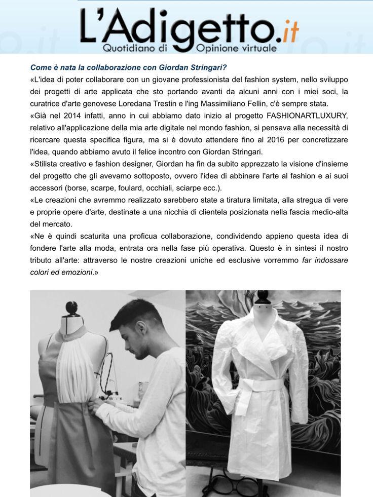 #ladigetto #milano #milanofashionweek2017 #CarloBusetti #giordanstringari #loredanatrestin #digitalart #apple #AbrahamCaprani #italy #madeinitaly 🇮🇹🇮🇹🇮🇹#Milano #milanfashionweek  #fashion #fashionista #follow #style #luxury  #creative #live #photooftheday #moda #modafeminina #model #beastmode #instagood #instahome #colour #newyork #Paris  #londonart #china #londonart #newyork #passione #sogno #emozioni