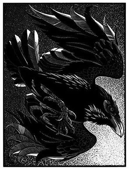 Unkindness of Ravens I by Colin See-Paynton