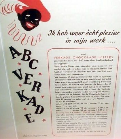 'oude 'reclame folder VERKADE