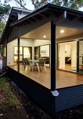 Townhouse or Villa at Rainbow Beach from Just $23 pp/night.
