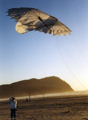 Lilienthal glider kite.