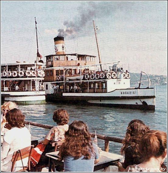 Barbaros Çay Bahçesi - Beşiktaş 1960'lar